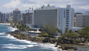 Condado has one of the top beaches in San Juan, Puerto Rico.