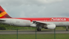 All aboard: An Avianca Airbus A320. Photo: ACGP