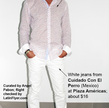 Menswear from Cuidado Con El Perro and Zara will help you look cool in Cancun.