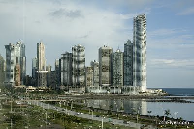 Panama City is a great place for rooftop hotel bars and skyscraper views.