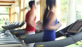 Let's get physical: The gym at the Hotel Real InterContinental, near San Jose, Costa Rica.