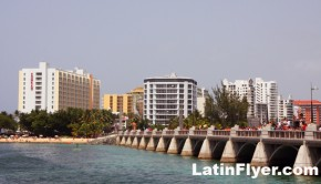 Dos Hermanos bridge is one of the upgraded landmarks in the Condado district of San Juan, Puerto Rico.