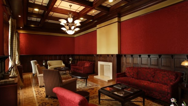 Casa Gangotena, a luxurious boutique hotel in Quito, Ecuador, offers private meeting space.