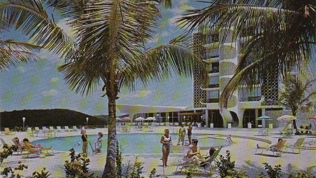 The El Ponce InterContinental was a happening place a few decades ago.