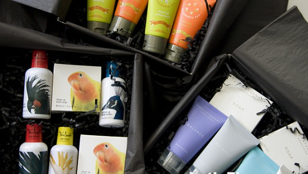 Shanghai Tang products are among the luxurious new amenities offered by Conrad Hotels.