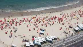 Copacabana Beach is just one of the legendary sites in Rio de Janeiro.