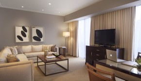 Tower suites at The Bristol Panama offer lots of amenities for travelers in Panama City, Panama.