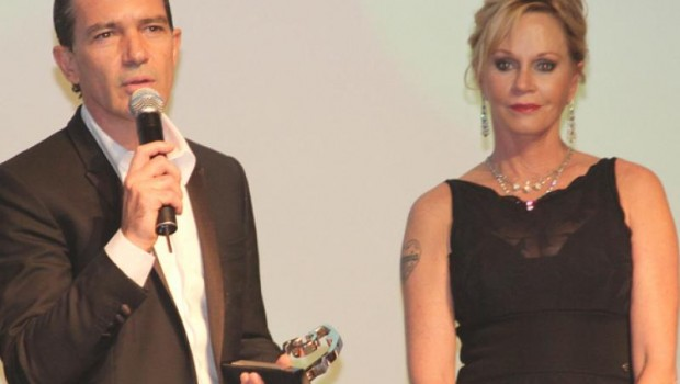 Antonio Banderas and Melanie Griffith inaugurated the Acapulco International Film Festival.