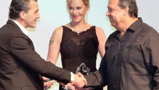 Antonio Banderas and Melanie Griffith were warmly welcomed to the Acapulco International Film Festival.