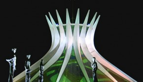 Metropolitan Cathedral in Brasilia is one of Oscar Niemeyer's best-loved creations. Photo: Victor Soares/Agencia Brasil