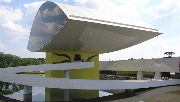 Oscar Niemeyer Museum in Niteroi, Brazil. Photo: Morio