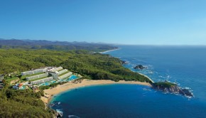 Bay windows: Secrets Huatulco Resort & Spa is the newest all-inclusive hotel in Huatulco, Mexico.