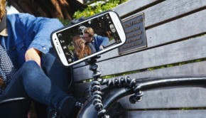 The Joby GripTight GorillaPod Stand makes it easy to take photos with a smart phone, just about anywhere.