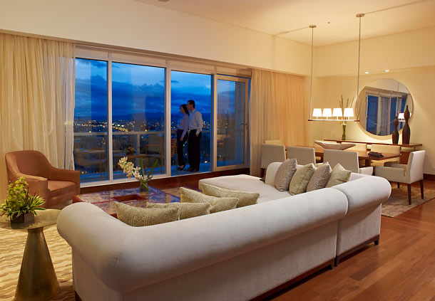 The Presidential Suite S Living Area At Jw Marriott Bogota