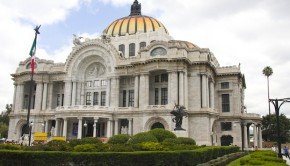 The Palacio de Bellas Artes in Mexico City is just one of many noteworthy reasons to visit.