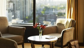 Fresh view: The renovated Sheraton Buenos Aires hotel's Club Lounge.