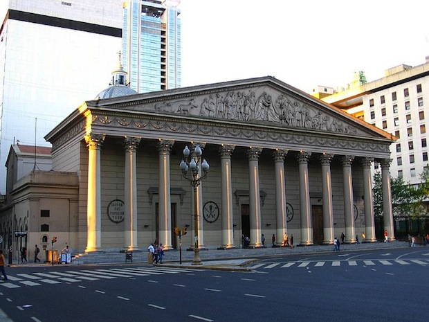 The Catedral Metropolitana, the Metropolitan Cathedral of Buenos Aires. Photo: Alexis González Molina