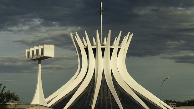The cathedral in Brasilia, is one of Brazil's most-photographed churches.