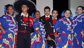 Mexican dancers at Secrets Huatulco resort treat guests to live performances.