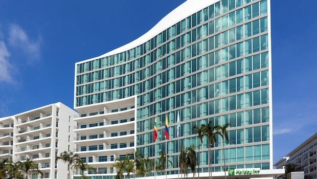 The Holiday Inn Cartagena Morros is one of the newest hotels in Colombia's tourism hotspot.