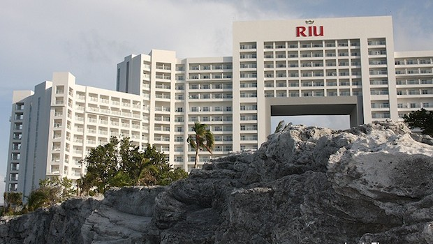 The Riu Palace Peninsula is one of the newest hotels in Cancun, Mexico.
