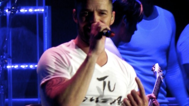 Ricky Martin performs at Palace Resorts in Cancun in December. Photo: Jerry Nunn