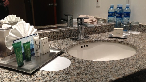 Bathroom amenities at Hilton Colon Quito hotel. Photo: LatinFlyer.com