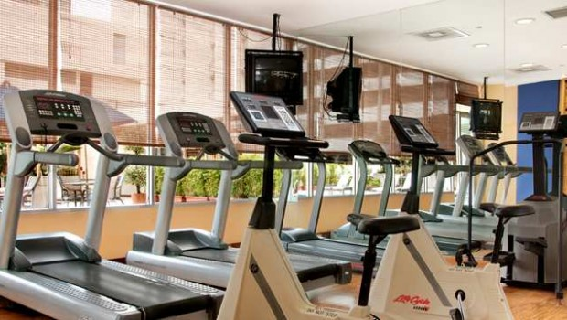 Fitness Center at Hilton Colon Quito hotel. Photo: Hilton