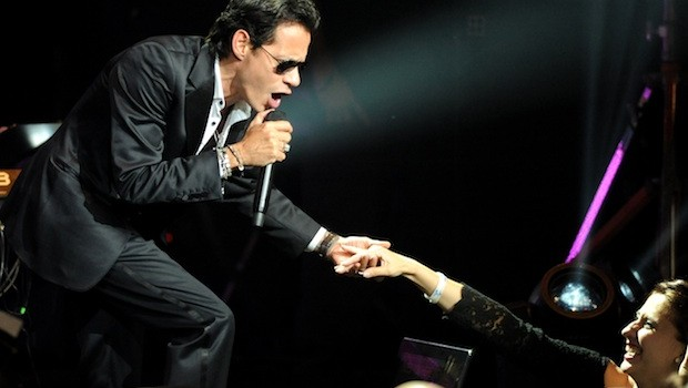 Marc Anthony brought Puerto Rican rhythm to Palms Casino Resort.  Photo: Las Vegas News Bureau