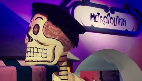 Paris-themed Day of the Dead, at Dolores Olmedo Museum in Mexico City.
