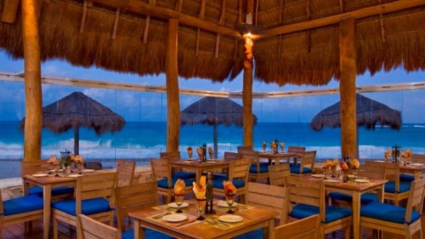 Sea and Stones is one of the restaurants at Westin Resort & Spa, Cancun.