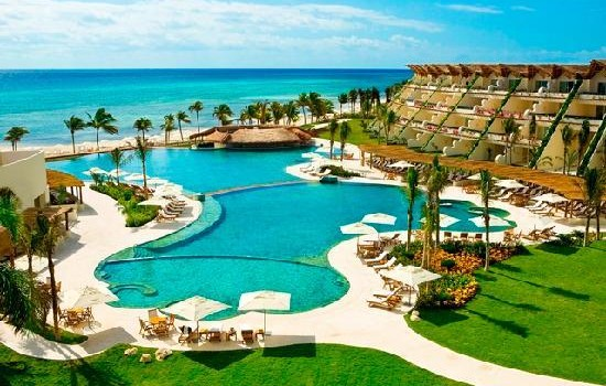 Grand Velas Riviera Maya resort, in Mexico.