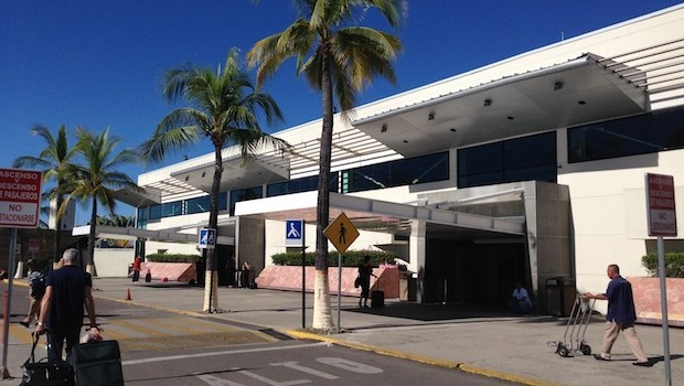 Puerto Vallarta International Airport in Mexico.