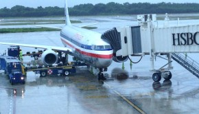 This American Airlines Boeing 737-800 carried me from Cancun to New York JFK.