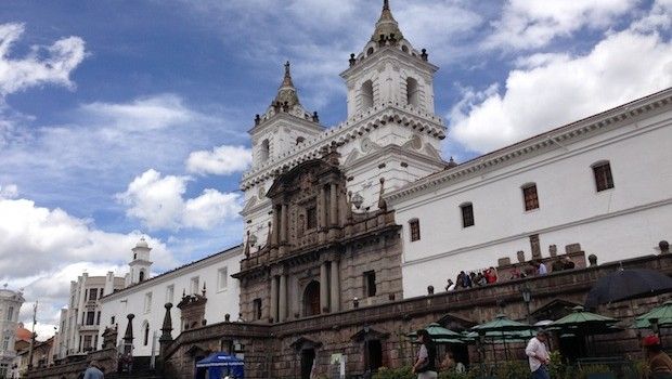 The Iglesia San Francisco — San Francisco Church — is a top attraction in Quito.