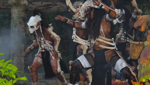 Day of the Dead includes indigenous Mexican culture and dance at Xcaret.