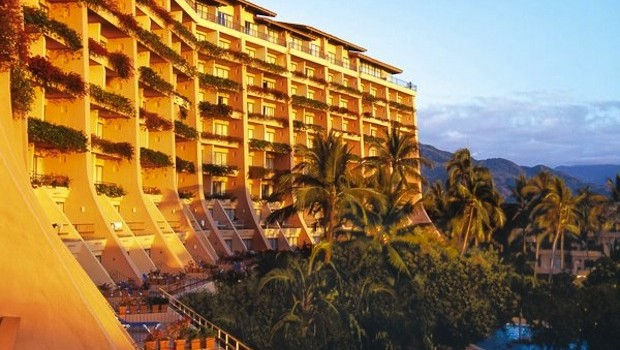The Fiesta Americana Puerto Vallarta hotel offers great views.