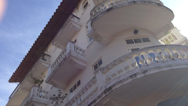 Beautiful architecture makes Las Clementinas stand out in Panama City's Casco Antiguo district.