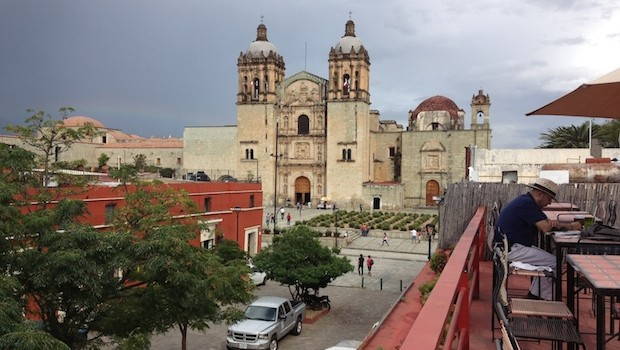 Oaxaca, Mexico is a historic colonial city.