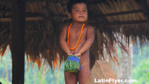 Children play important roles for the indigenous people of the Embera.