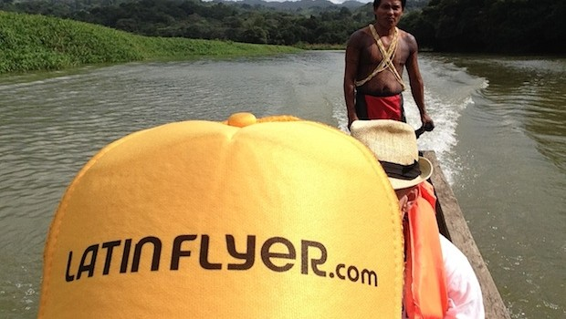You can't beat the view from this canoe in Panama.