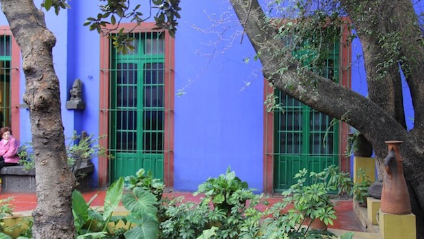 There's a reason why the birthplace of Frida Kahlo is called the Blue House.