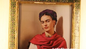 The Frida Kahlo Museum is  set in the Caza Azul, her former home in Mexico City.