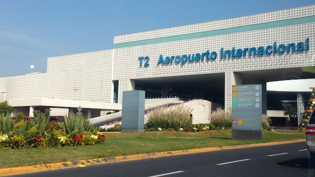 Terminal 2 at Mexico City Airport is home to Delta and Aeromexico.