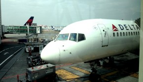 This Delta Air Lines Boeing 757 carried me from Mexico City to JFK airport.