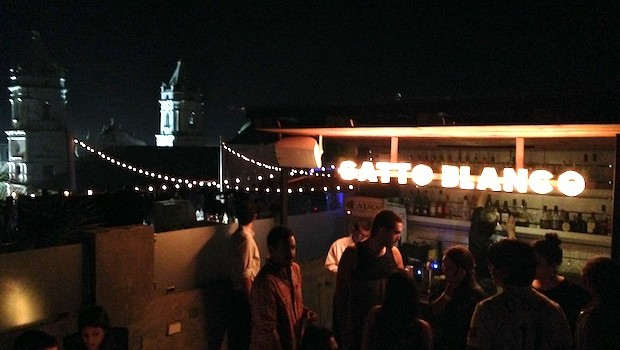 Gatto Blanco is one of the hottest rooftop bars in Panama City, Panama.