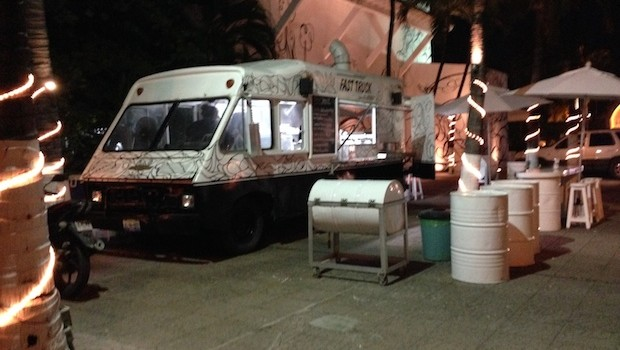 Even the food trucks — like this one, La Leche — are great in Puerto Vallarta.
