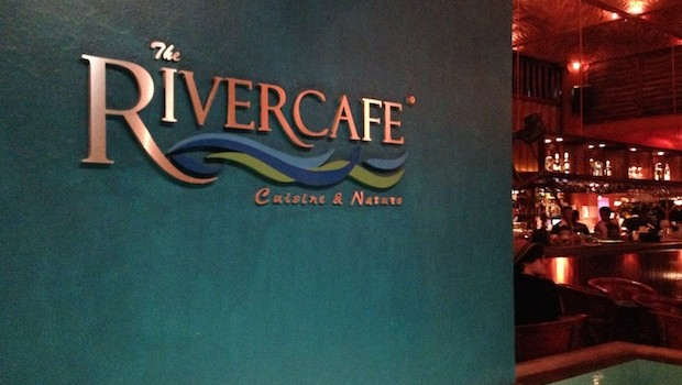 The River Cafe is set on a scenic island in Puerto Vallarta.
