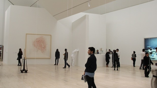 Museo Jumex has one of the largest private art collections in Latin America.