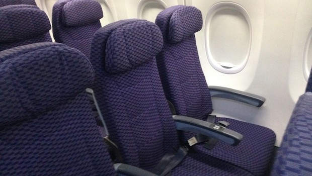 Economy-class airline seating, Copa Airlines Boeing 737-800.